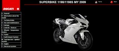 Thumbnail Ducati 1198 / S Service Repair Manual 2009