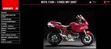 Thumbnail Ducati Multistrada MTS 1100 Service Repair Manual 2007