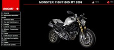 Ducati Monster 1100 Service Repair Manual 2009