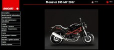 Thumbnail Ducati Monster 695 Service Repair Manual 2007