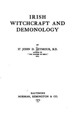 Product picture Irish Witchcraft And Demonology - 1913